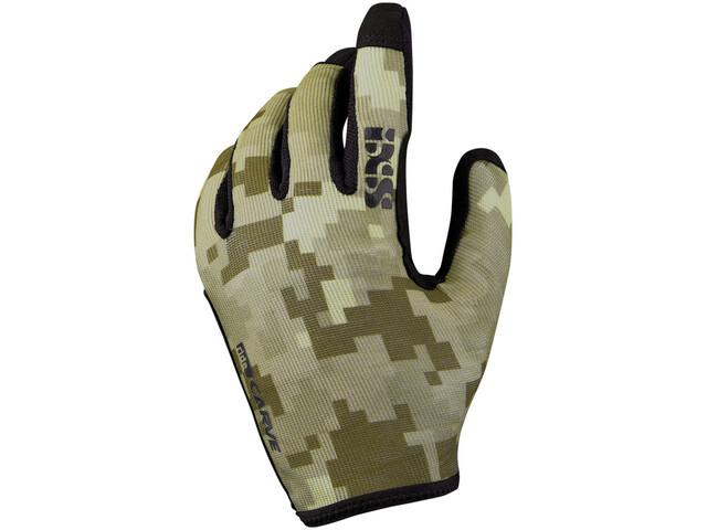 IXS Carve Gloves camel camo